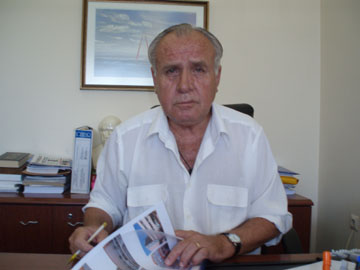 Ο Διοικητής του Νοσοκομείου Κομοτηνής κ. Ιωάννης Καβαρατζής
