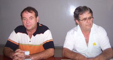 Οι κ.κ. Δημήτρης Κουκάκης και Λάζαρος Αλατζίδης